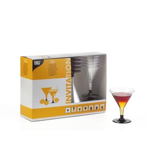 100 einweg cocktail gl ser mit eichstrich bei 100 ml. Black Bedroom Furniture Sets. Home Design Ideas