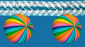 Girlanden und Partyketten