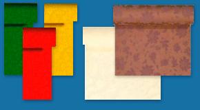 Tischbänder aus Dunicel