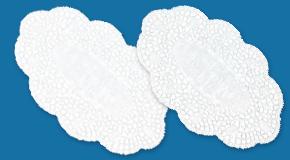Plattenpapiere und Tortenunterlagen